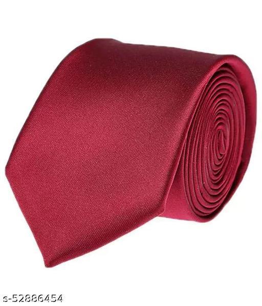 Fashionable Trendy Men Ties maroon