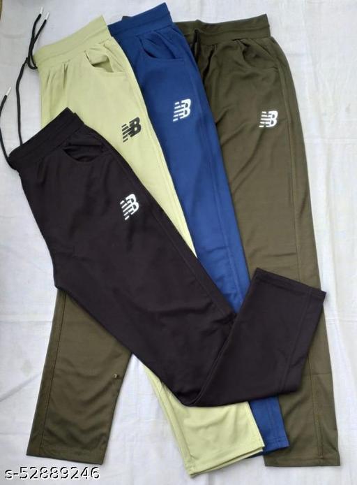 lycra  track pants [ set of 4 ]
