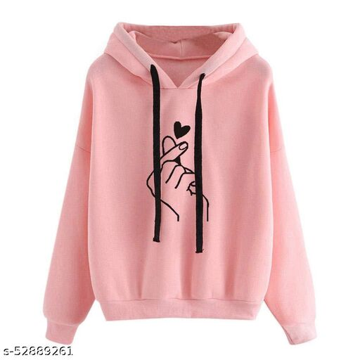RC Neoen Babay Pink Hand Print Sweatshirt