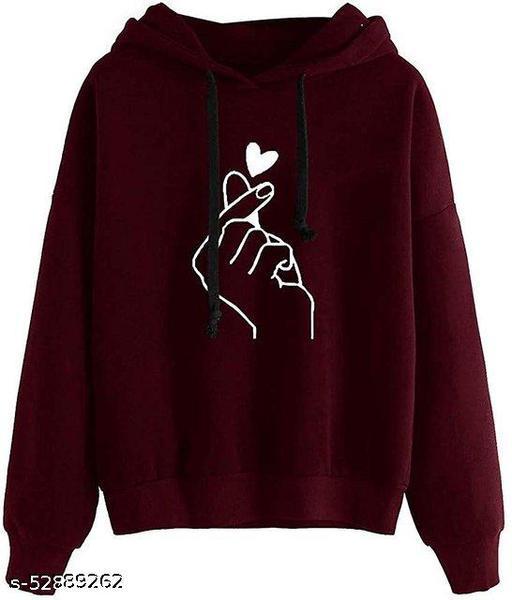 RC Neoen Maroon Hand Print Sweatshirt