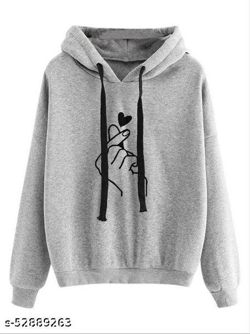 RC Neoen Grey Hand Print Sweatshirt