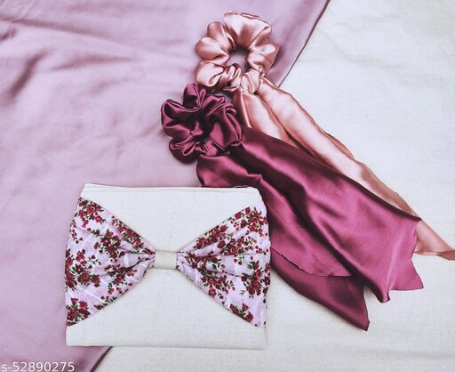 i pad sleeve and 2 scarf scruncies