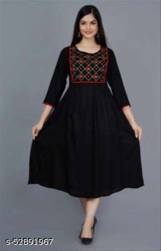 Rayon Embroidery kurta