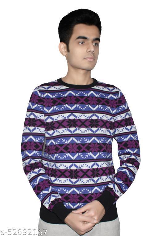 Men Multicolor Sweater