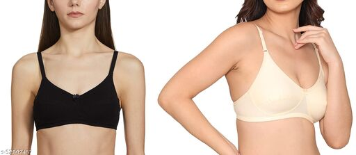 Comfortable non padded every day  Hosiery bra