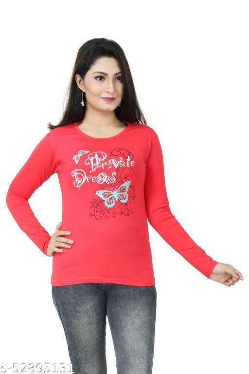 Girls/Women Full Sleeve Cotton Gajri Printed Top