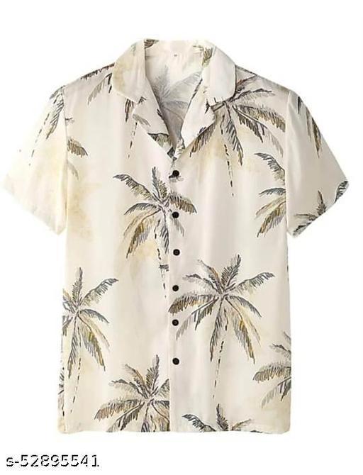Classy  Men's  Cotton Casual Half Sleeve Shirt