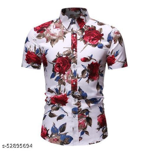 Stylish Designer Men Half Sleeve Shirt (Ready-Made)