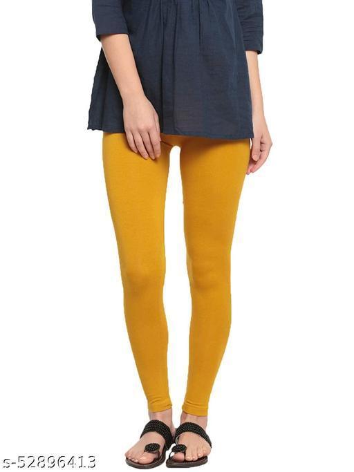 Fheo Mustard Chudidar Legging