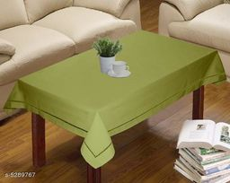 Solid Cotton Table Covers