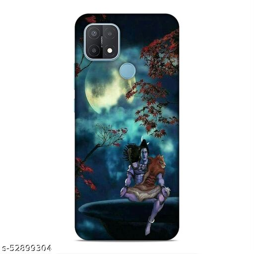 MM9E Back Cover For Oppo A15, Oppo A15s, CPH2185 Printed Back Cover|Om Namah Shivaay / Lord Shankara / Shiv Ji  Printed Back Cover|(Multicolor, Hard Case)