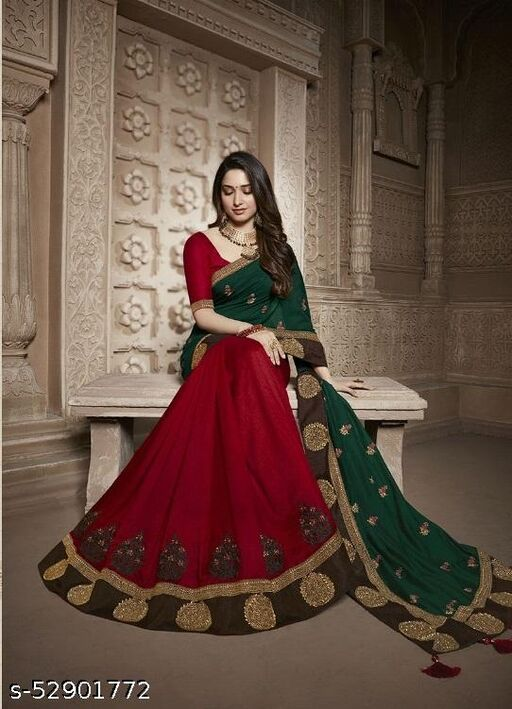 Bollywood  Embroidered saree