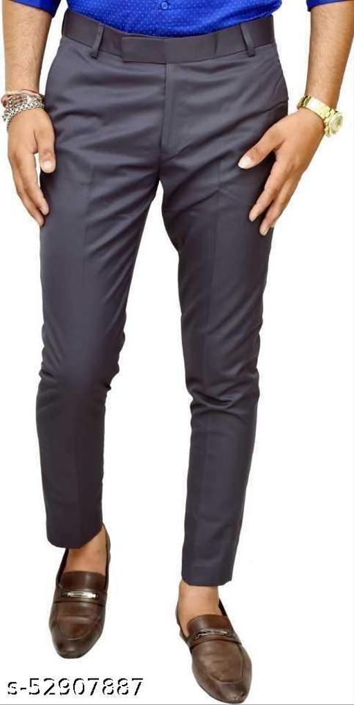 Makhkha MEN Dark BLUE Formal Trouser