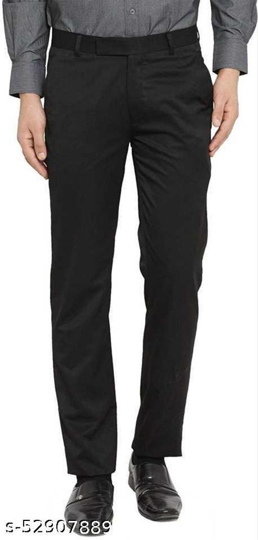 Makhkha MEN Black Formal Trouser