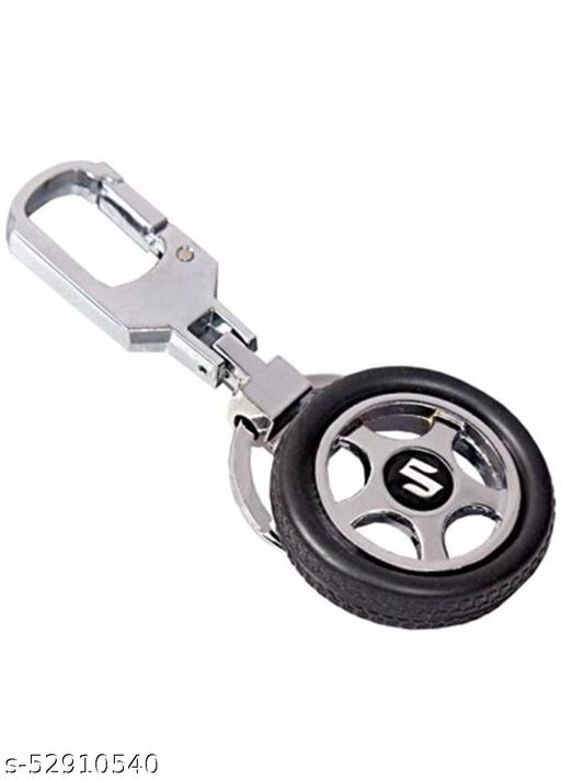 Riddhi Siddhi Rotary Tyre Wheel Locking Metal Keychain/Keyring/Key Ring/Key Chain Maruti Suzuki