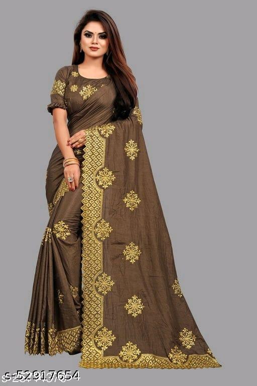 Beautiful havyy Zari Work C pallu saree With Stone Work.