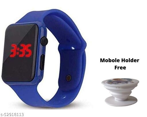 Watch & Mobile Holder Free