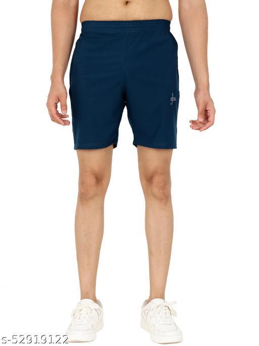 Men's Regular Fit Casual Gym Shorts