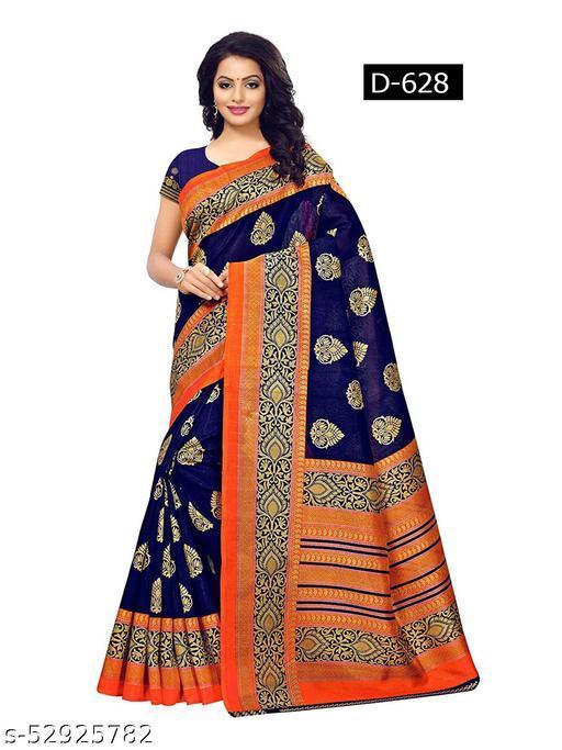 printed art silk sarees