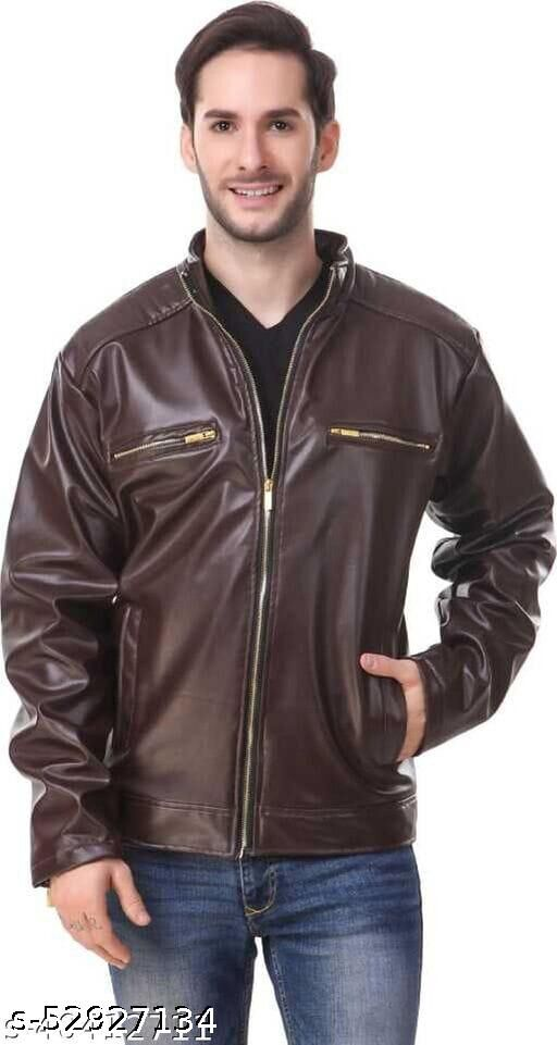 Ladher Brown Jackets w2