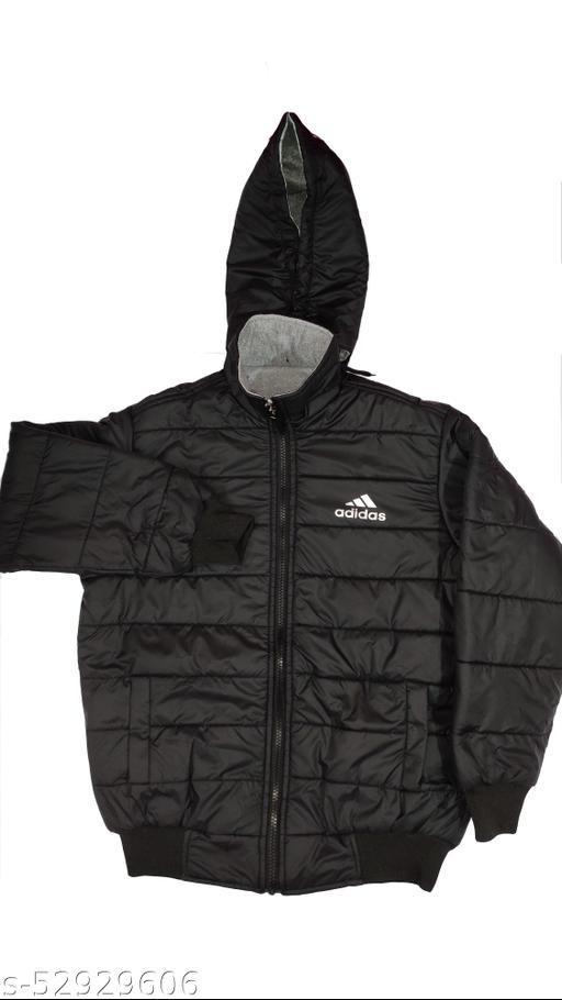 adidas full sleeve black jacket for winter