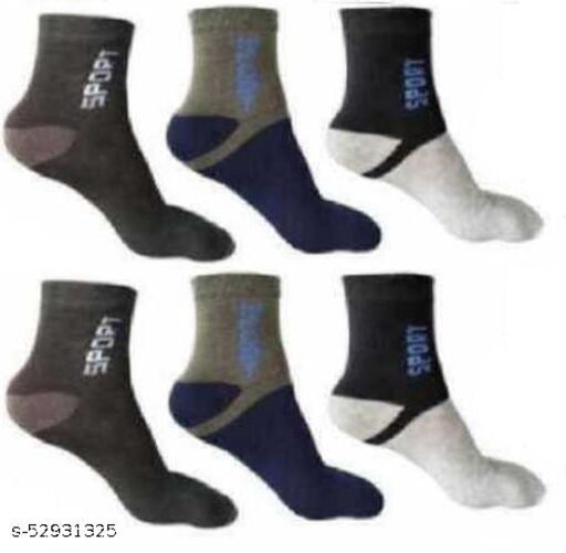 Men Striped Ankle Length  (Pack of 3)