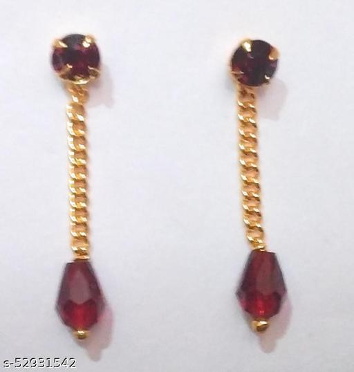 1gram gold crystal drops&dangles