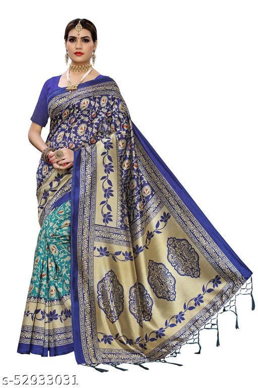 Mysore Silk Saree (Sunflower Design)
