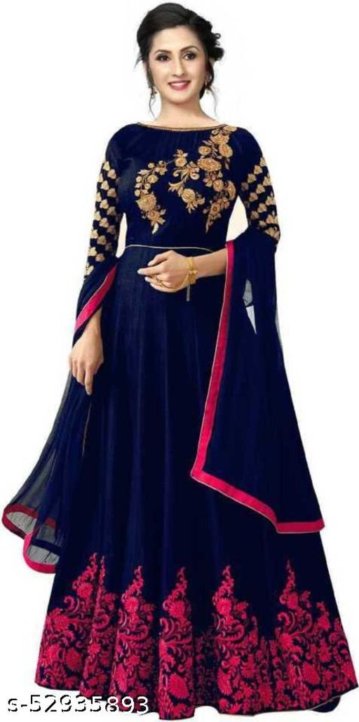 NEW DESIGNER GOWN AND DUPATTA