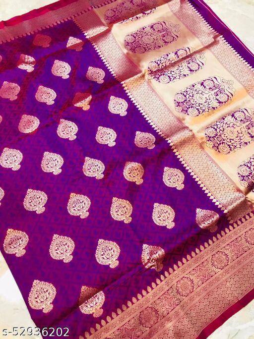 UA CREATION Taj Mahal Silk Kanchipuram Pure silk handloom saree