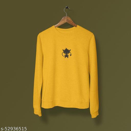 DEVIL cotton sweatshirt