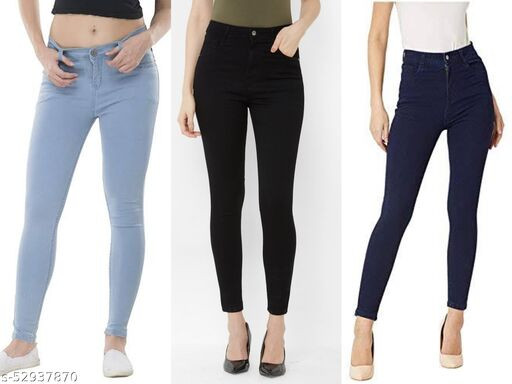 womens fancy high waist jeans