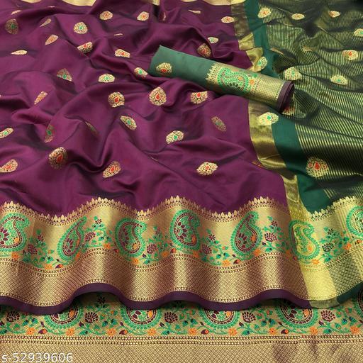 Sensational Banarasi Silk Sarees Vol 21