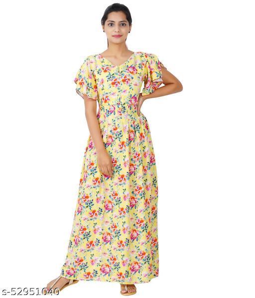 MATERNAL MAXI DRESS