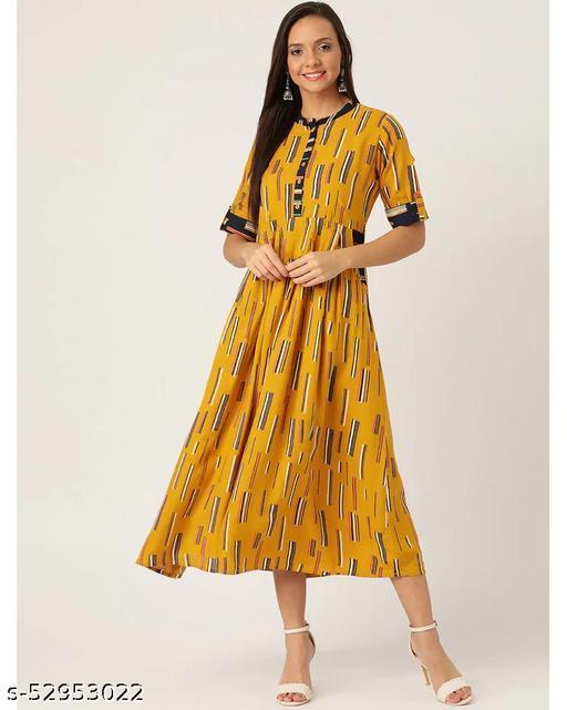 Cotton Printed Skater Dress