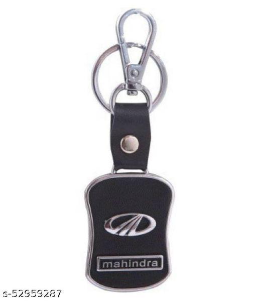 Americ Style Mahindra Leather Metal Hook Locking Key Chain