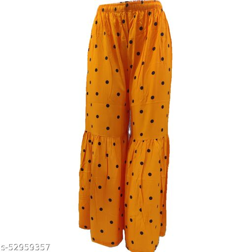 Stylish Dotted Sharara For Women's