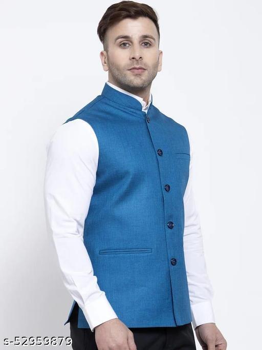 Urbane Retro Men ethnic jacket