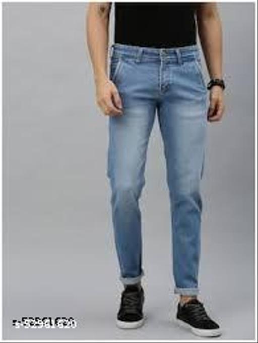Elegant Fashionista Men Jeans