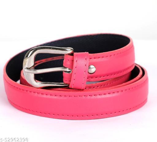 ZAFR Girls/womens solid colour Belt   stylish belt for girls/women