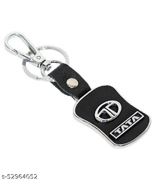 Americ Style TATA Leather Metal Hook Locking Key Chain