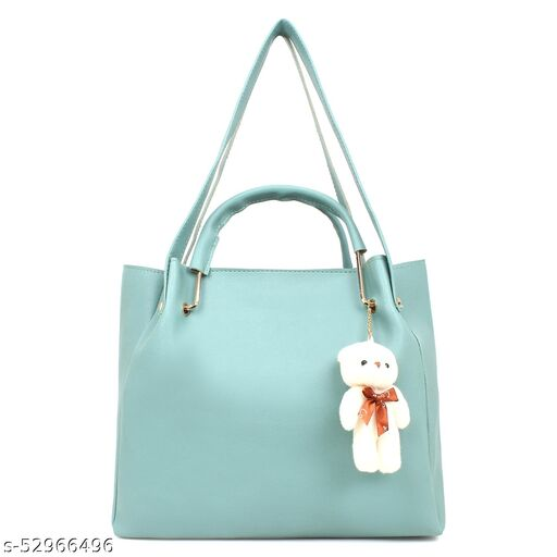 Pardarshi Enterprises Blue Color Handbag for Women
