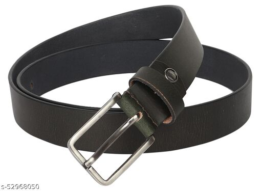 Mens/Gents/Boys Genuine Original Leather Belt | Formal/Casual | Brown/Black/Tan Colour | 28 to 44 Sizes | 1 Year Warranty