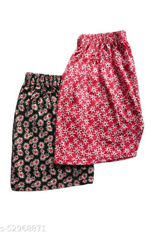 Women's Comfortable Printed Shorts Combo SCOMBO03