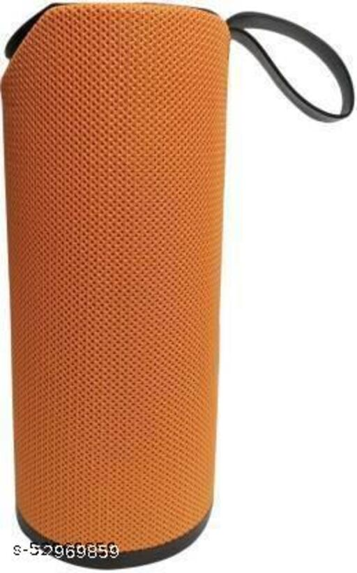 TG 113 bluetooth 5 W Bluetooth Speaker  (Orange, Stereo Channel)