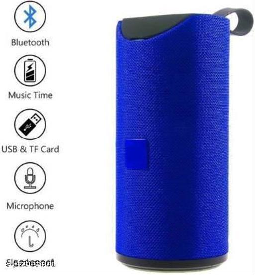 TG-113 Bluetooth Speaker Good quality sound bluetooth Speaker 01 piece, Sound Blast Speaker Portable Best Bluetooth Speaker tg 113 with Super deep Bass Wireless Rechargeable dj Sound Bluetooth Speaker Support TF/USB/Pen Drive/AUX (TG-113, Blue)