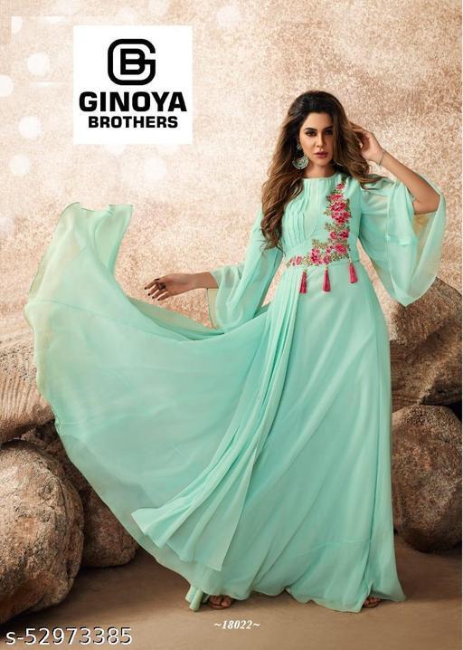 Banita Drishya Gown