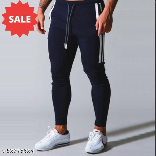 Branded Trackpants With High quality stretchable fabric