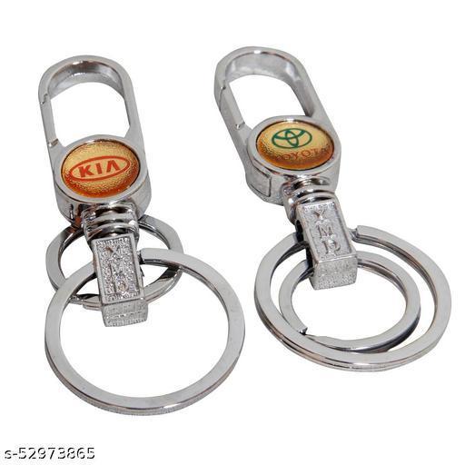 Zhunmun Designer Key Chain Key Rings - Combo of 2