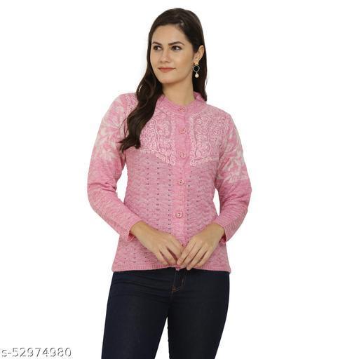 CHATANYA Women Acrylic wool Frock Style Regular Fit Winter wear Sweater